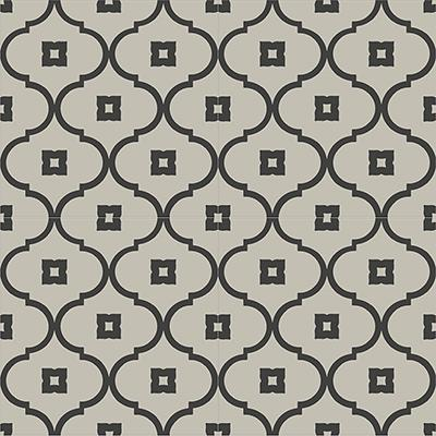Gạch bông CTS 163.1(13-27) - 4 viên - Encaustic cement tile CTS 163.1(13-27)-4 tiles
