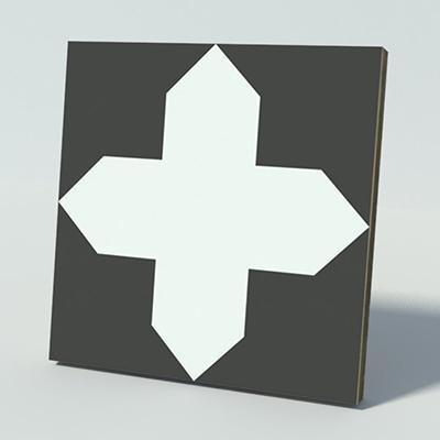 Gạch bông CTS 166.1(4-13) - Encaustic cement tile CTS 166.1(4-13)