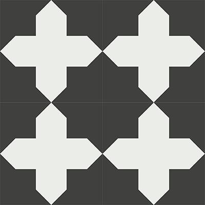 Gạch bông CTS 166.1(4-13) - 4 viên - Encaustic cement tile CTS 166.1(4-13)-4 tiles
