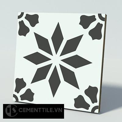 Gạch bông CTS 167.1(4-13) - Encaustic cement tile CTS 167.1(4-13)