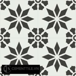 Gạch bông CTS 167.1(4-13) - 4 viên - Encaustic cement tile CTS 167.1(4-13)-4 tilesGạch bông CTS 167.1(4-13) - 4 viên - Encaustic cement tile CTS 167.1(4-13)-4 tiles