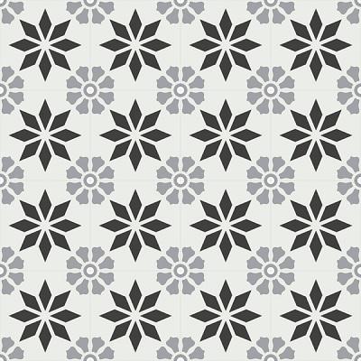 Gạch bông CTS 167.2(4-9-13) - 16 viên - Encaustic cement tile CTS 167.2(4-9-13)-16 tiles