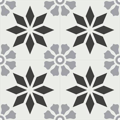 Gạch bông CTS 167.2(4-9-13) - 4 viên - Encaustic cement tile CTS 167.2(4-9-13)-4 tiles