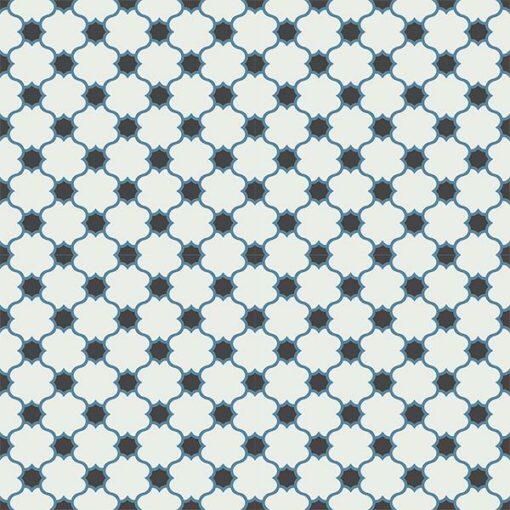 Gạch bông CTS 168.1(4-10-13) - 16 viên - Encaustic cement tile CTS 168.1(4-10-13)-16 tiles