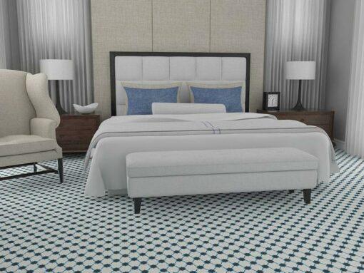 Gạch bông cts 168.1 trang trí phòng ngủ