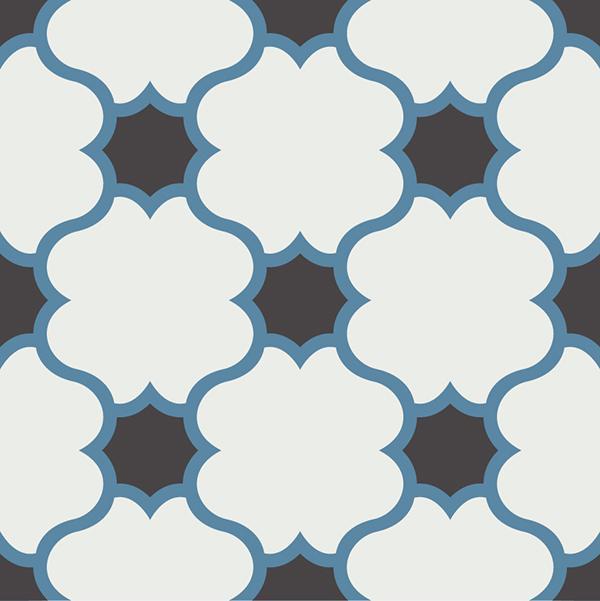 Gạch bông CTS 168.1(4-10-13) - Encaustic cement tile CTS 168.1(4-10-13)