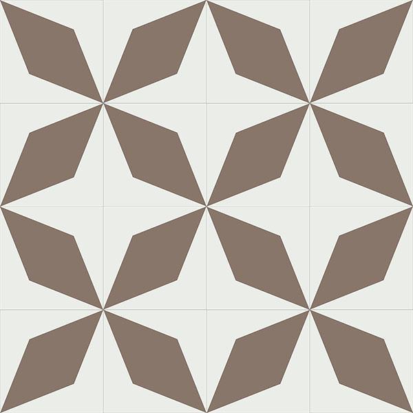 Gạch bông CTS 169.1(4-39) - 16 viên - Encaustic cement tile CTS 169.1(4-39)-16 tiles