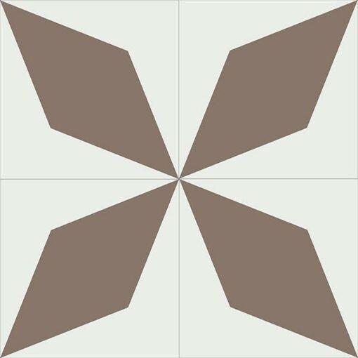 Gạch bông CTS 169.1(4-39) - 4 viên - Encaustic cement tile CTS 169.1(4-39)-4 tiles
