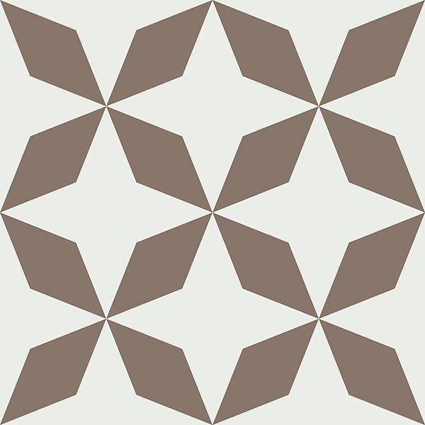 Gạch bông CTS 170.1(4-39) - 4 viên - Encaustic cement tile CTS 170.1(4-39)-4 tiles
