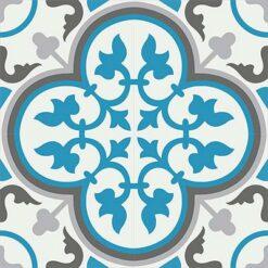 Gạch bông CTS 2.15(4-9-13-31) - 4 tiles - Encaustic cement tile CTS 2.15(4-9-13-31) - 4 tiles