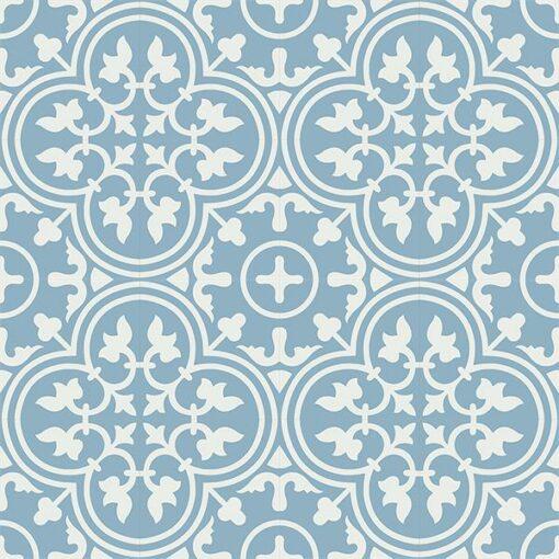 Gạch bông CTS 2.18(4-29) - 16 viên - Encaustic cement tile CTS 2.18(4-29)-16 tiles