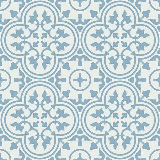 Gạch bông CTS 2.19(4-29) - 16 viên - Encaustic cement tile CTS 2.19(4-29)-16 tiles