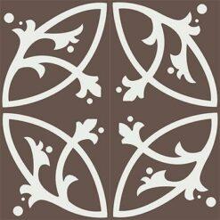 Gạch bông CTS 24.3(4-14) - 4 viên - Encaustic cement tile CTS 24.3(4-14)-4 tiles