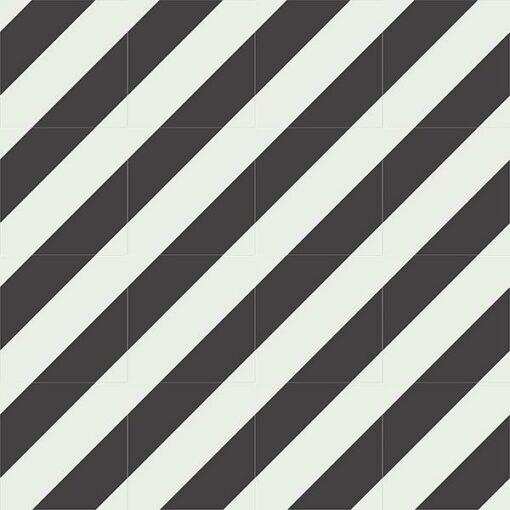 Gạch bông CTS 25.5(4-13) - 16 viên - Encaustic cement tile CTS 25.5(4-13)-16 tiles