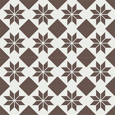 Gạch bông CTS 27.11(4-14) - 16 viên - Encaustic cement tile CTS 27.11(4-14)-16 tiles