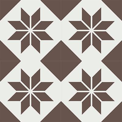 Gạch bông CTS 27.11(4-14) - 4 viên - Encaustic cement tile CTS 27.11(4-14)-4 tiles