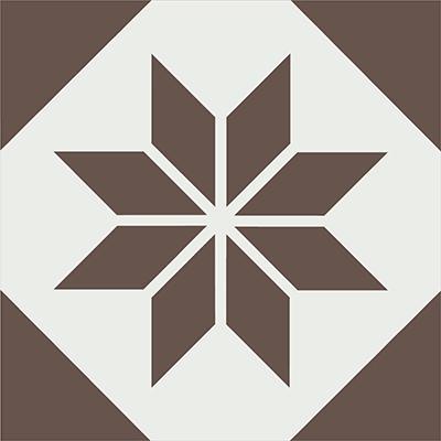 Gạch bông CTS 27.11(4-14) - Encaustic cement tile CTS 27.11(4-14)
