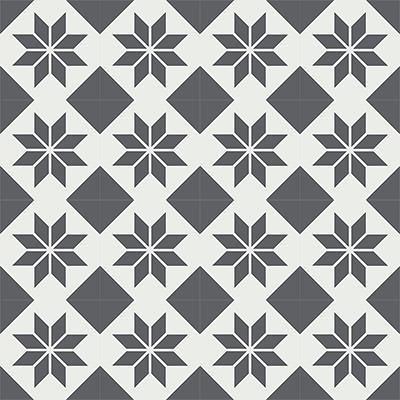 Gạch bông CTS 27.9(4-32) - 16 viên - Encaustic cement tile CTS 27.9(4-32)-16 tiles