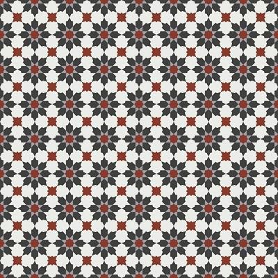 Gạch bông CTS 3.18(4-9-13-30) - 16 viên - Encaustic cement tile CTS 3.18(4-9-13-30)-16 tiles