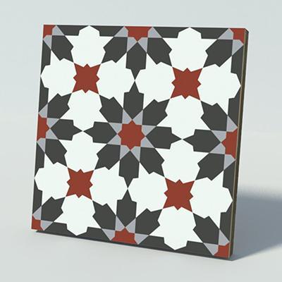 Gạch bông CTS 3.18(4-9-13-30) - Encaustic cement tile CTS 3.18(4-9-13-30)