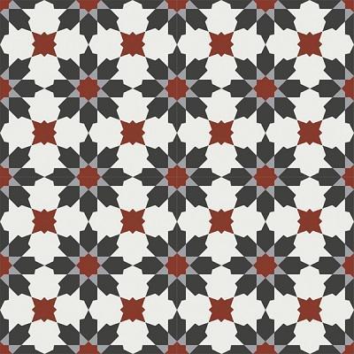 Gạch bông CTS 3.18(4-9-13-30) - 4 viên - Encaustic cement tile CTS 3.18(4-9-13-30)-4 tiles