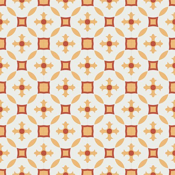 Gạch bông CTS 36.4(4-5-6) - 16 viên - Encaustic cement tile CTS 36.4(4-5-6)-16 tiles