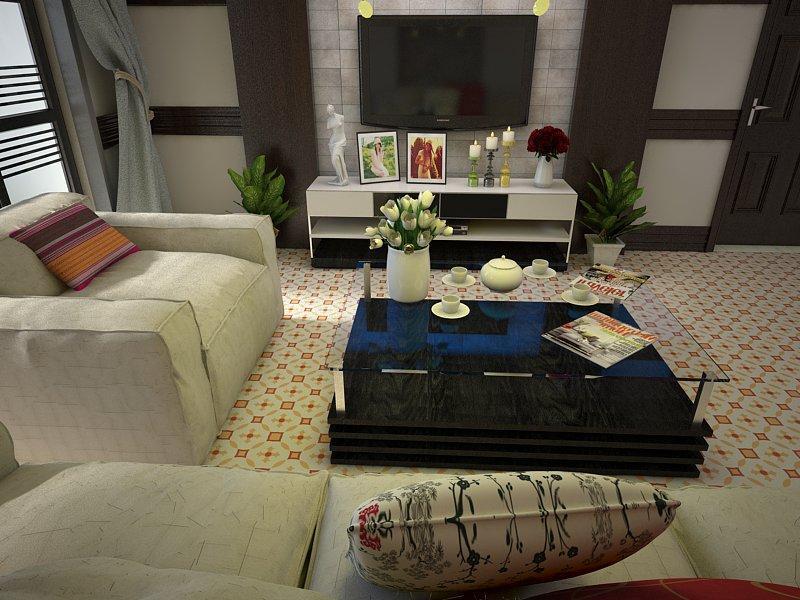 Gạch bông cts 36.4 trng trí phòng khách
