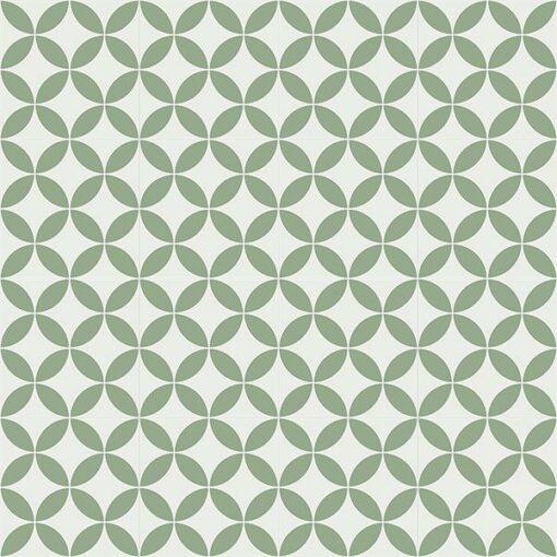 Gạch bông CTS 6.15(4-7) - 16 viên - Encaustic cement tile CTS 6.15(4-7)-16 tiles