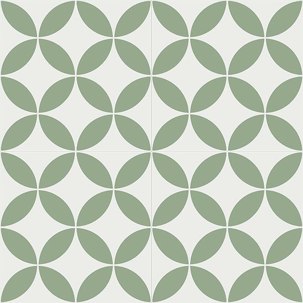 Gạch bông CTS 6.15(4-7) - 4 viên - Encaustic cement tile CTS 6.15(4-7)-4 tiles