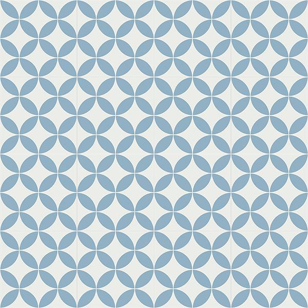Gạch bông CTS 6.16(4-29) - 16 viên - Encaustic cement tile CTS 6.16(4-29)-16 tiles