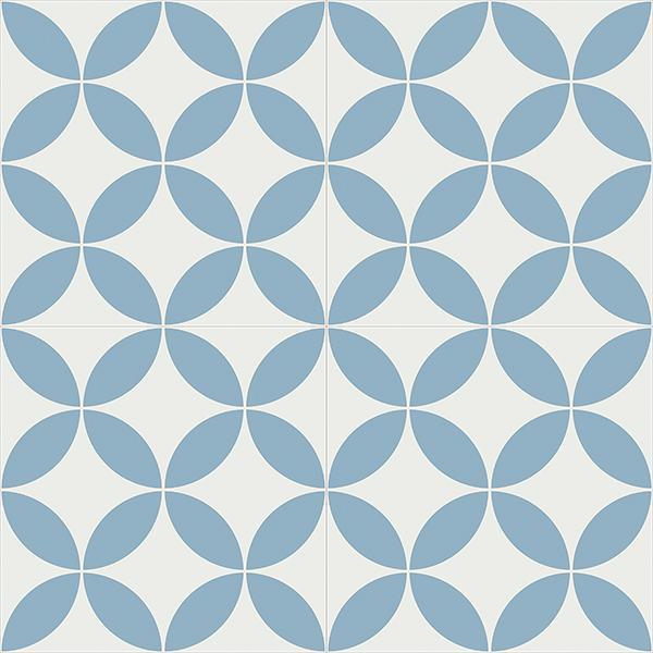 Gạch bông CTS 6.16(4-29) - 4 viên - Encaustic cement tile CTS 6.16(4-29)-4 tiles