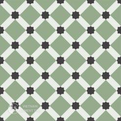Gạch bông CTS 68.4(4-7-13) - 4 viên - Encaustic cement tile CTS 68.4(4-7-13)-4 tiles