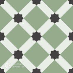 Gạch bông CTS 68.4(4-7-13) - Encaustic cement tile CTS 68.4(4-7-13)