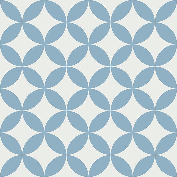 Gạch bông CTS 7.11(4-21) - 16 viên - Encaustic cement tile CTS 7.11(4-21)-16 tiles