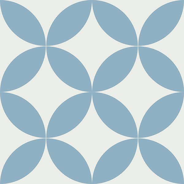 Gạch bông CTS 7.11(4-21) - 4 viên - Encaustic cement tile CTS 7.11(4-21)-4 tiles