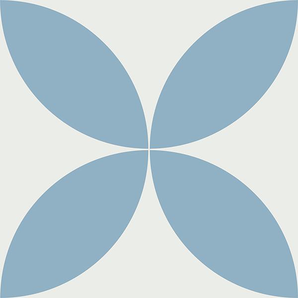 Gạch bông CTS 7.11(4-21) - Encaustic cement tile CTS 7.11(4-21)