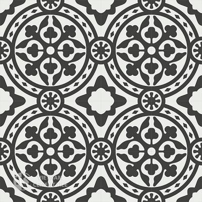 Gạch bông CTS 94.1(4-13) - 16 viên - Encaustic cement tile CTS 94.1(4-13)-16 tiles