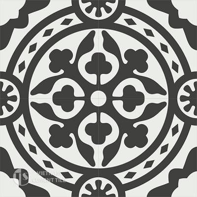 Gạch bông CTS 94.1(4-13) - 4 viên - Encaustic cement tile CTS 94.1(4-13)-4 tiles