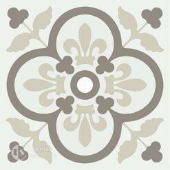 Gạch bông CTS 98.2(4-12-28) - 4 viên - Encaustic cement tile CTS 98.2(4-12-28)-4 tiles
