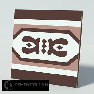 Gạch bông CTS B119.1(4-18-60) - Encaustic cement tile CTS B119.1(4-18-60)