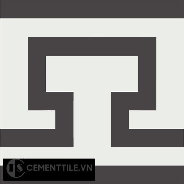 Gạch bông CTS B122.1(4-13) - Encaustic cement tile CTS B122.1(4-13)
