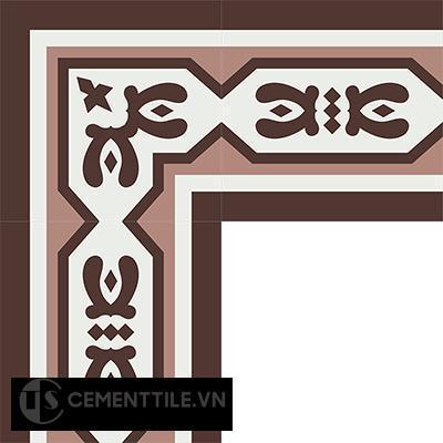 Gạch bông CTS BC119.1(4-18-60) - Encaustic cement tile CTS BC119.1(4-18-60)