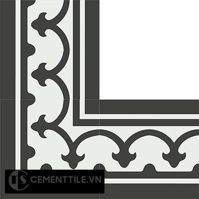 Gạch bông CTS BC101.1(4-13) - Encaustic cement tile CTS BC101.1(4-13)