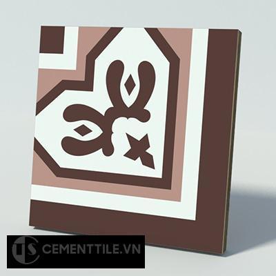 Gạch bông CTS C119.1(4-18-60) - Encaustic cement tile CTS C119.1(4-18-60)