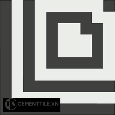 Gạch bông CTS C122.1(4-13) - Encaustic cement tile CTS C122.1(4-13)