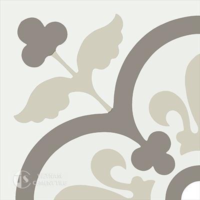 Gạch bông CTS 98.2(4-12-28) - Encaustic cement tile CTS 98.2(4-12-28)