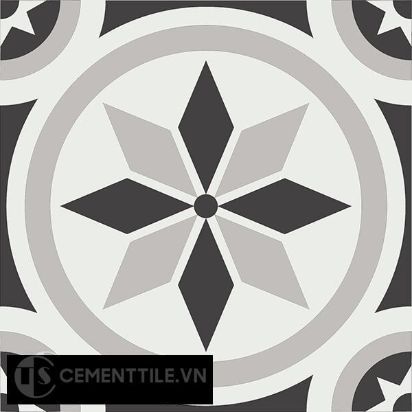 Gạch bông CTS 174.1(4-9-13) - Encaustic cement tile CTS 174.1(4-9-13)