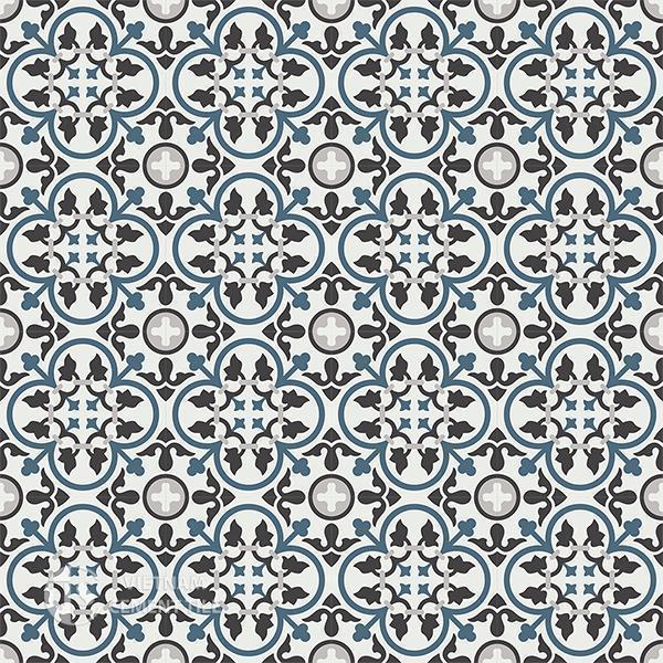 Gạch bông CTS 80.1(1-4-9-13) - 16 viên - Encaustic cement tile CTS 80.1(1-4-9-13)-16 tiles