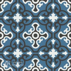 Gạch bông CTS 84.7(1-4-13) - 4 viên - Encaustic cement tile CTS 84.7(1-4-13)-4 tiles