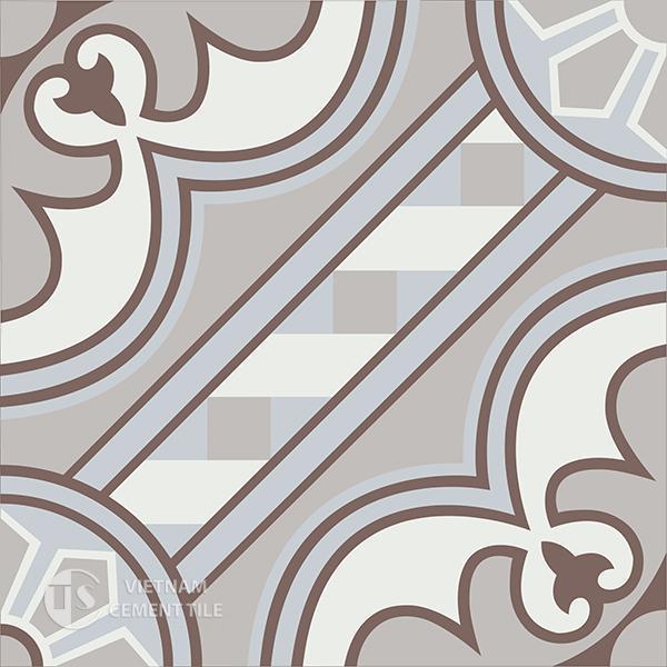 Gạch bông CTS 177.1(4-9-14-50) - Encaustic cement tile CTS 177.1(4-9-14-50)